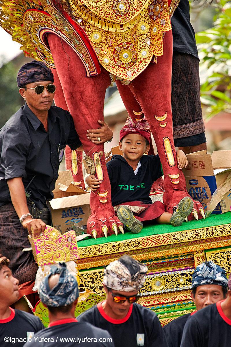 Bali cremation parade indonesia