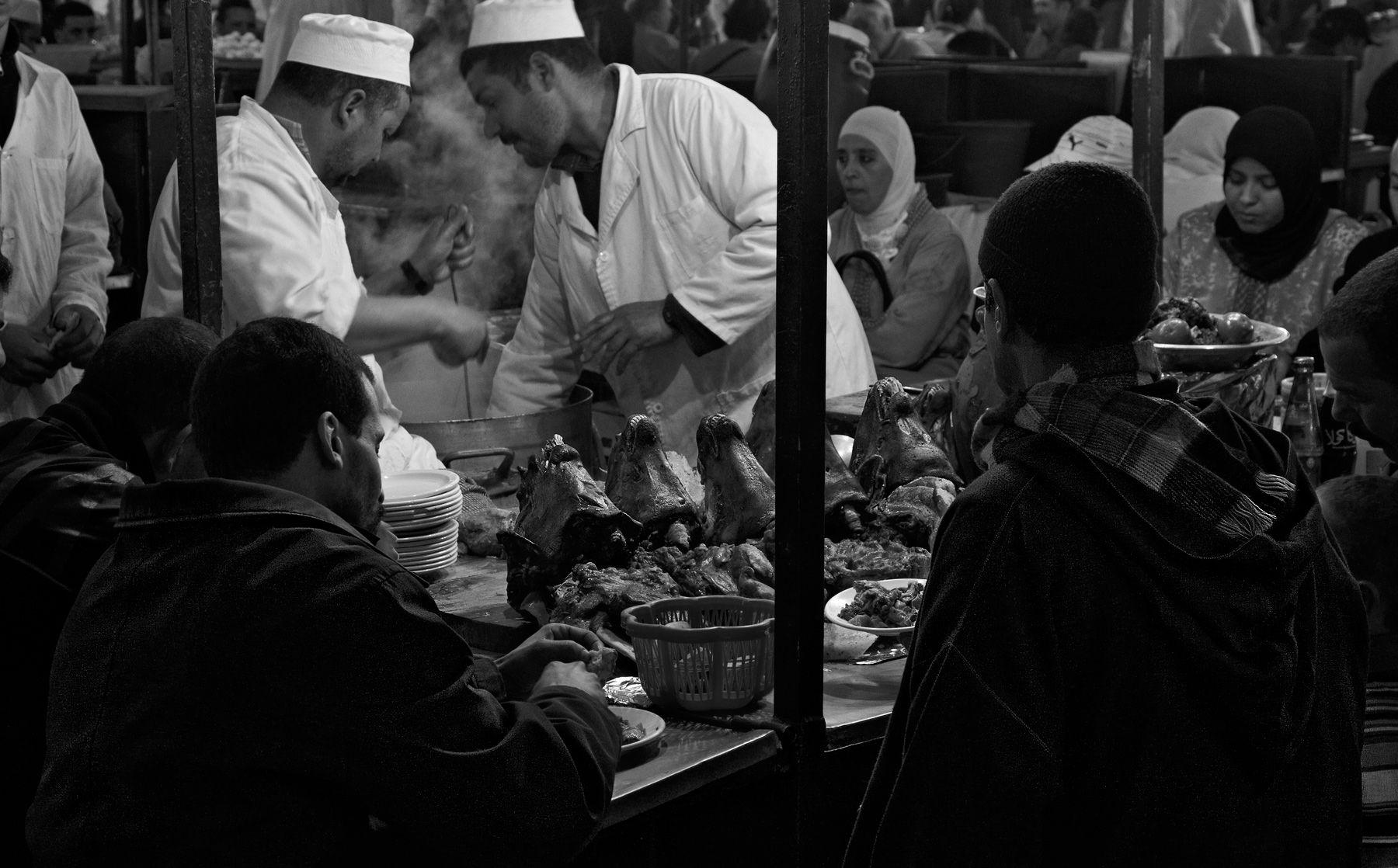 Marrakech Food Stall