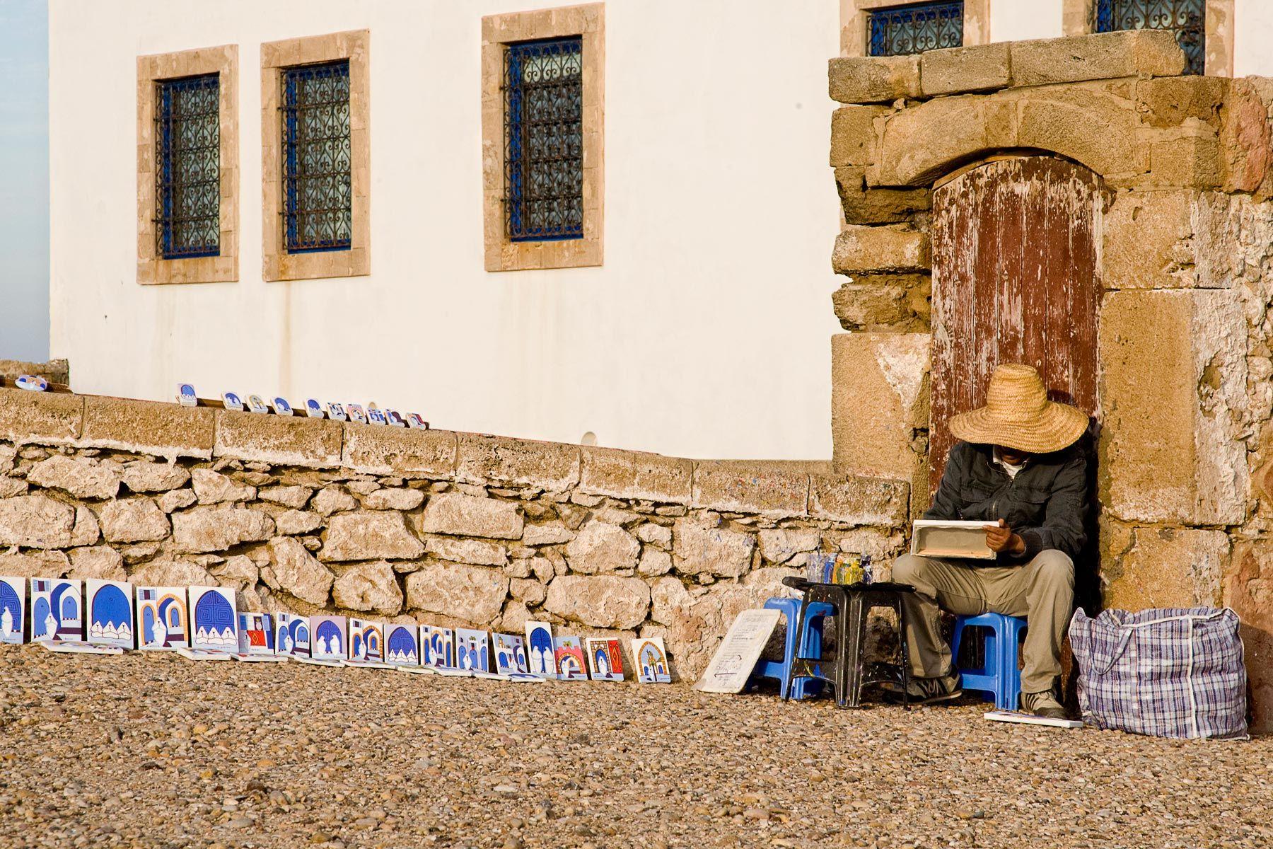 Moroccan Painter