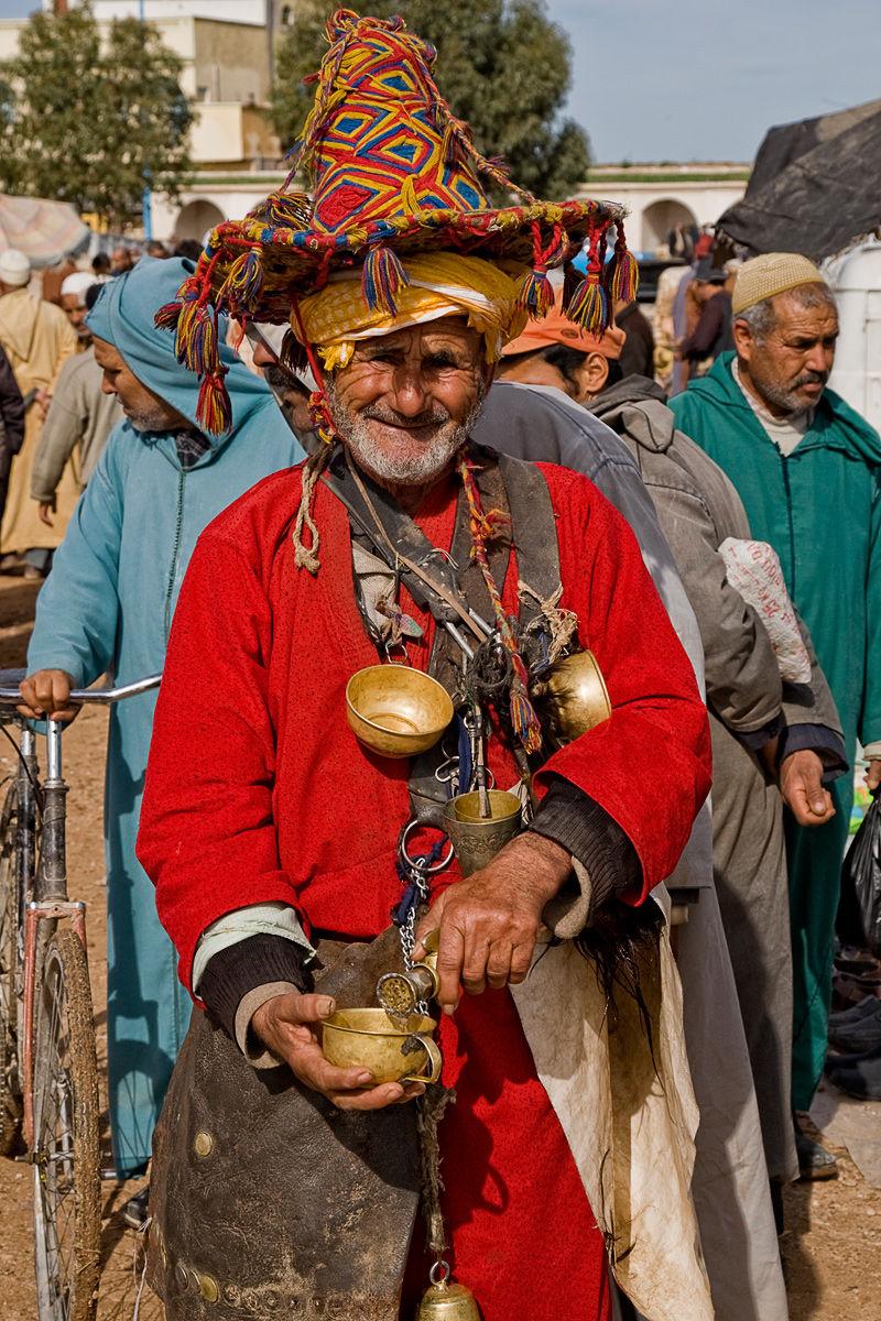 Moroccan Water Vendor