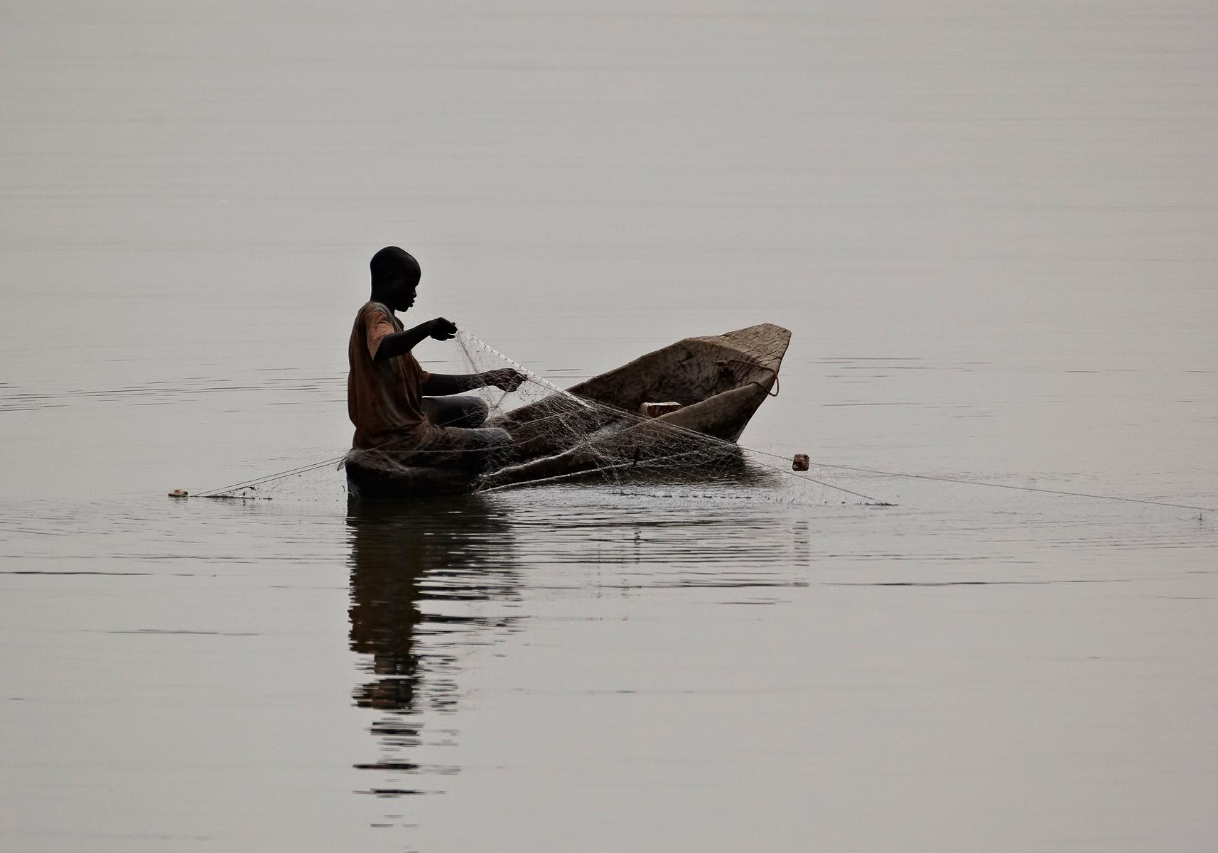 Senegalese fisherman