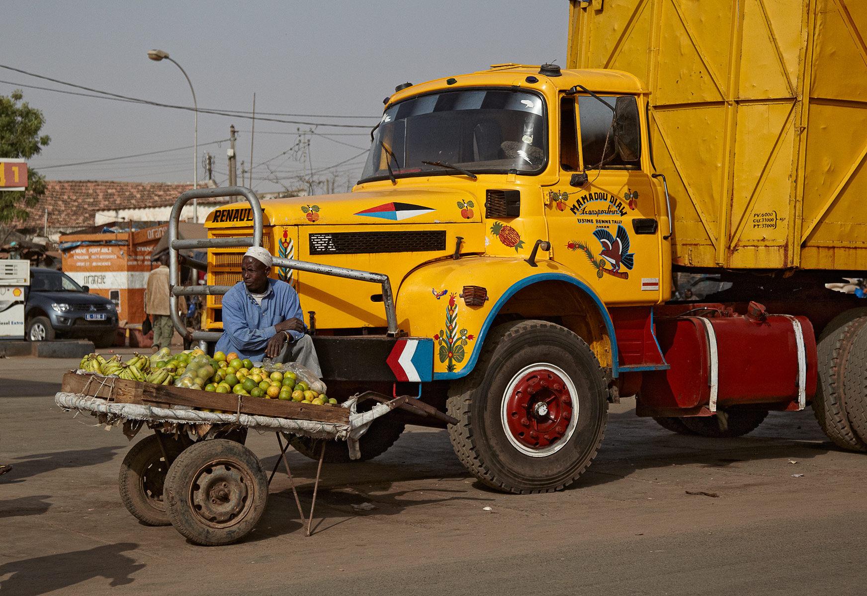 Senegalese Fruit Vendor