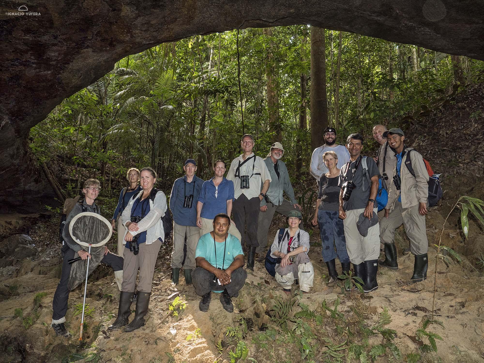 The Dorinha expedition group