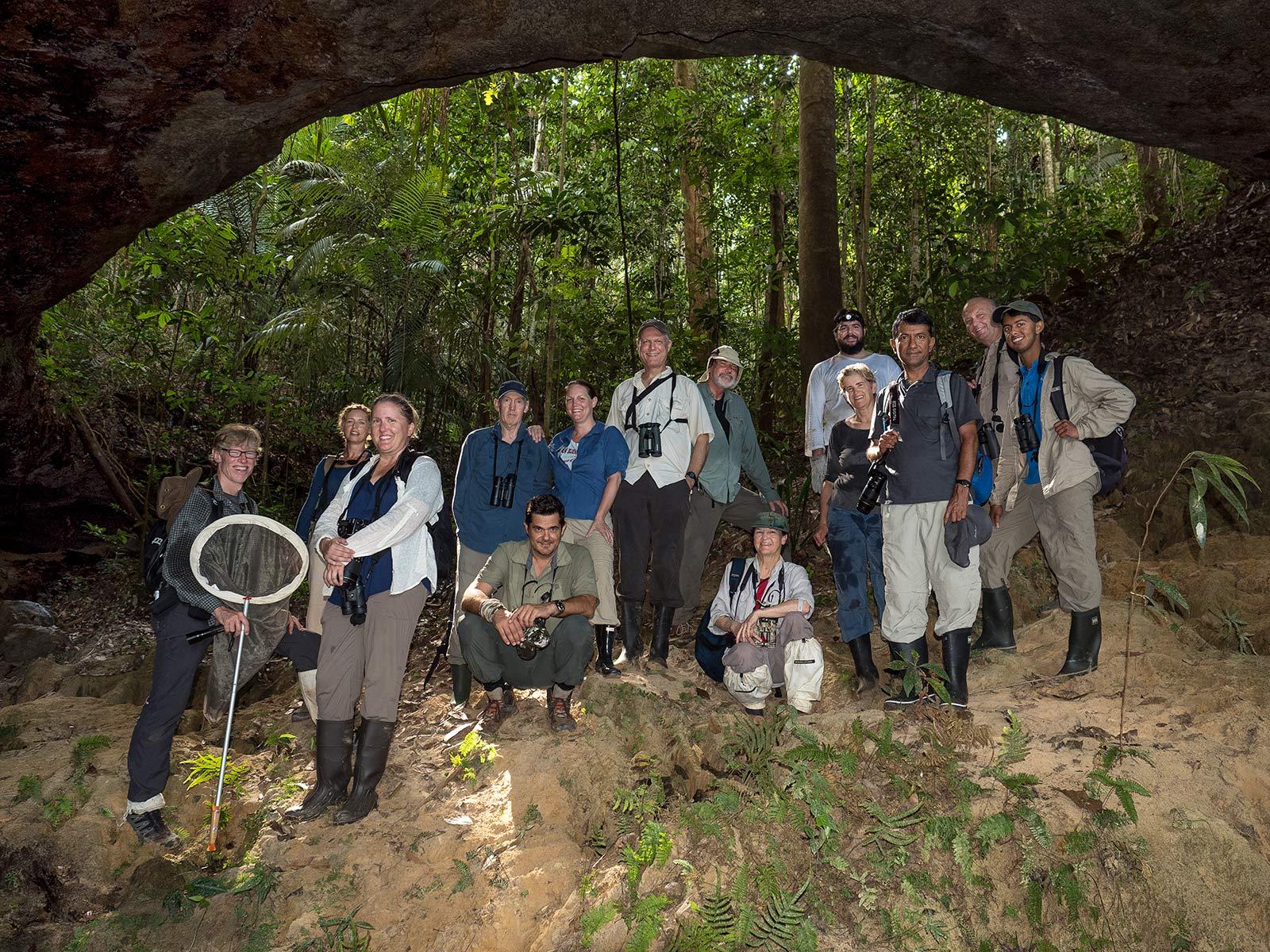 The Dorinha Amazon expedition team